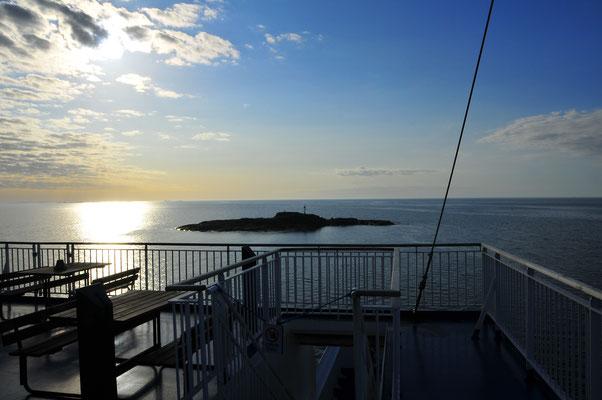 Kleine Insel mitten im Baltischem Meer