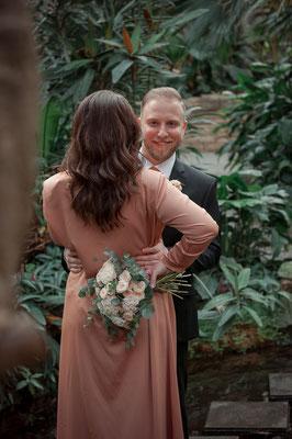 Vor der Hochzeit