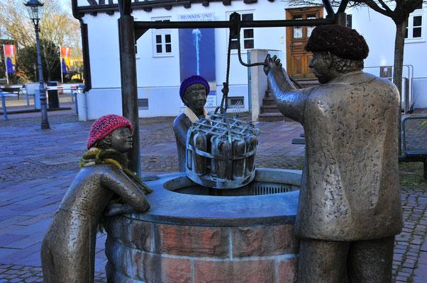 Brunnen als Sehenswürdigkeit in Bad Vilbel