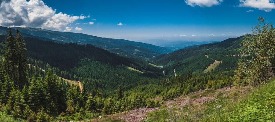 Unvergessliche österreichische Natur und Landschaften - Panorama