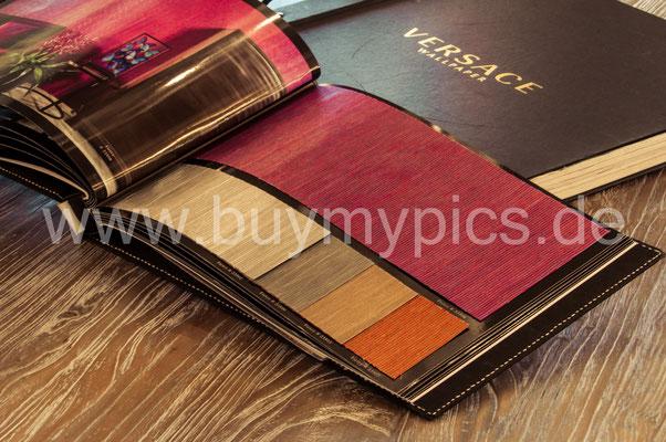 Tapeten von Versace und anderen führenden Designer Marken, Wohnwände mit Stil und Geschmack, Besondere Farben für die Wände