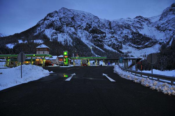 Österreichs Berge im Schnee