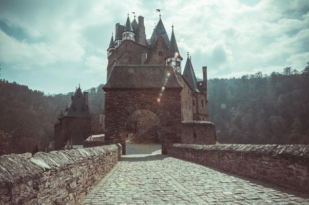 Burg Eltz wie im Mittelalter