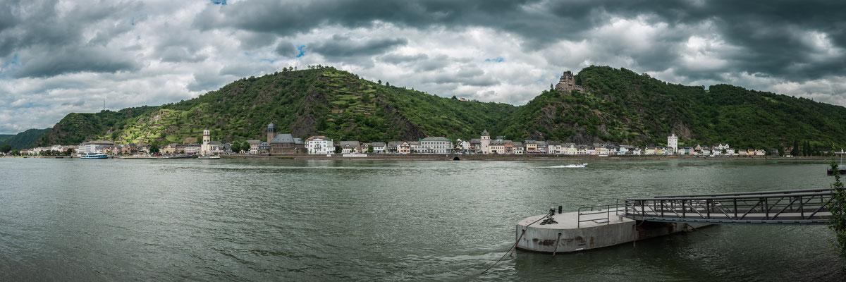 Der Rhein an der Loreley
