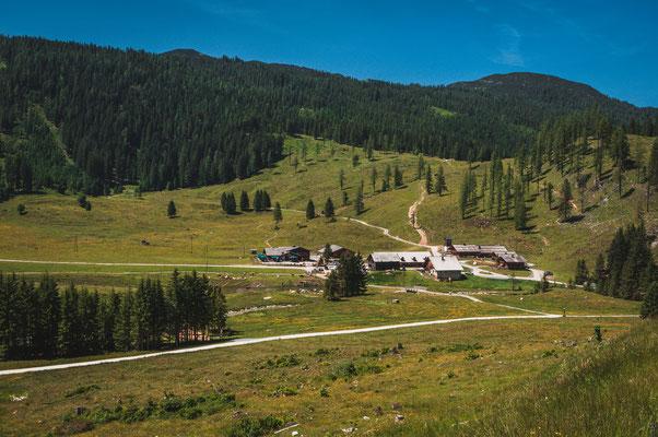 Österreichische Dörfer bei Flachau