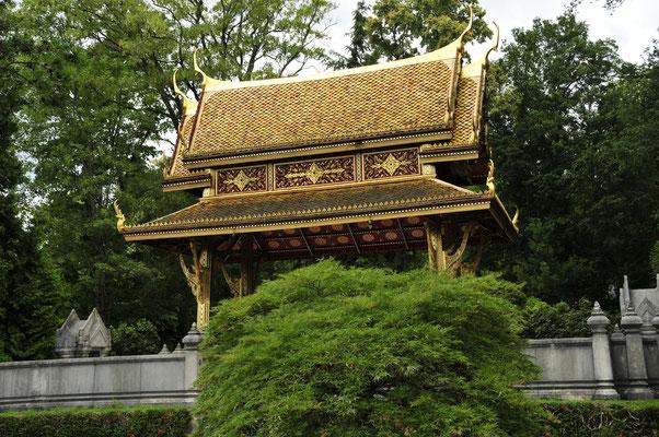 Thai-Sala Tempel im Kur-Park von Bad Homburg