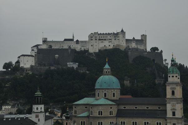 Kuppeln über Salzburg