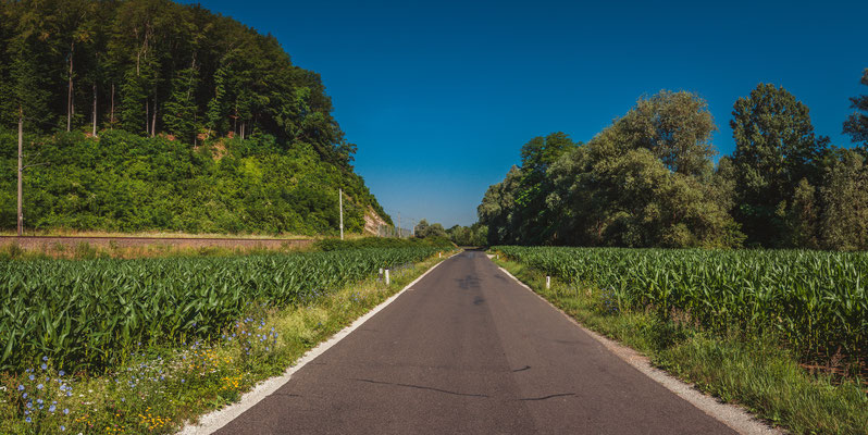 Panorama Blick - Maisfelder Österreichs
