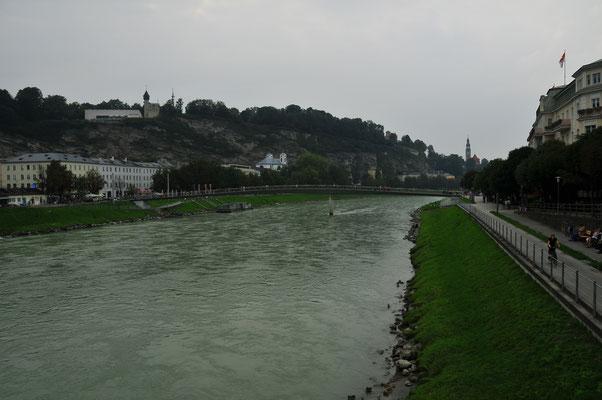 Salzburg - Fluss Salzach