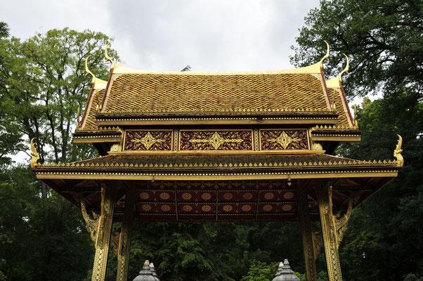 Thai-Sala Tempel Verzierungen
