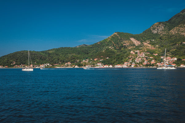 Blick auf Biela in Montenegro