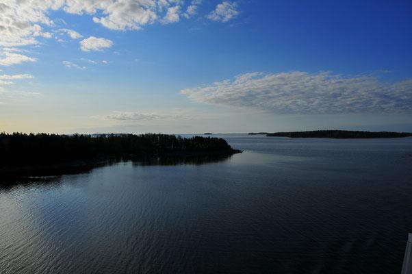 Inseln vor der Küste Finnlands