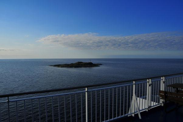 Kleine Insel mitten im Baltischen Meer