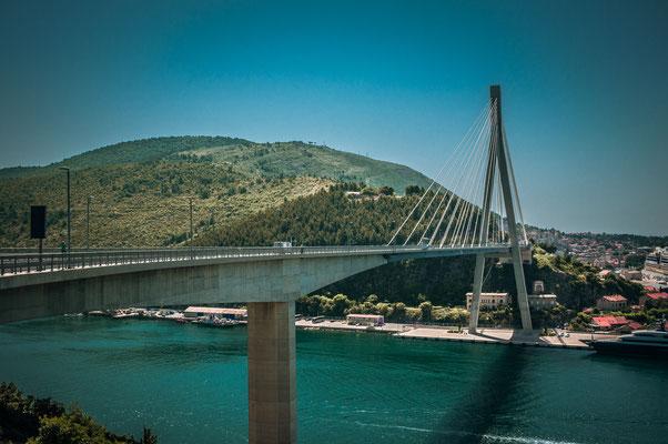 Most dr. Franja Tuđmana Brücke bei Dubrovnik
