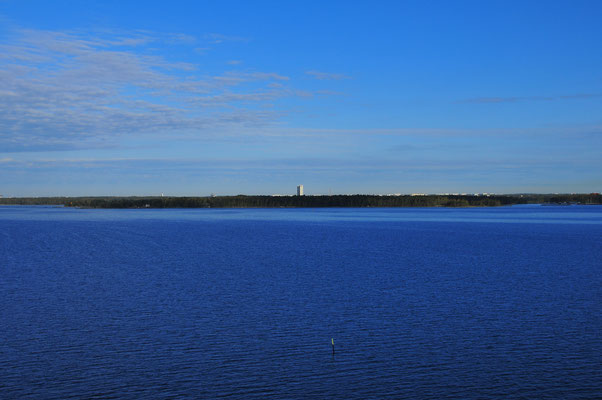 Festland im Baltischen Meer, Die Küste von Finnland