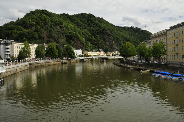 Ufer-Promenade in Bad Ems