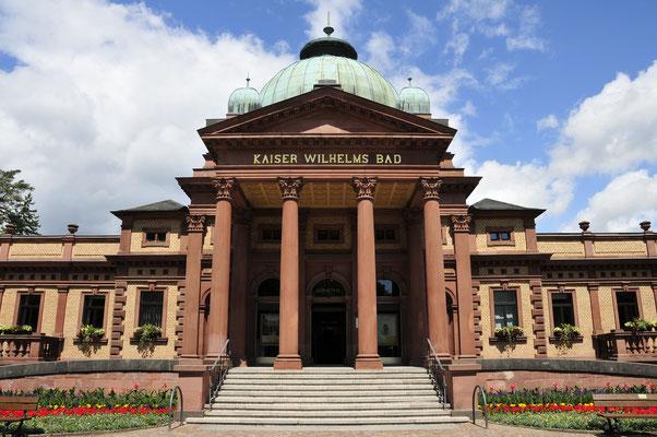 Eingang zum Kaiser-Wilhelms-Bad
