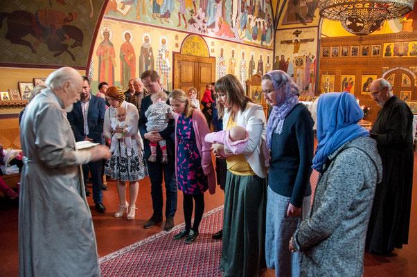 Russische Orthodoxe Taufe Frankfurt