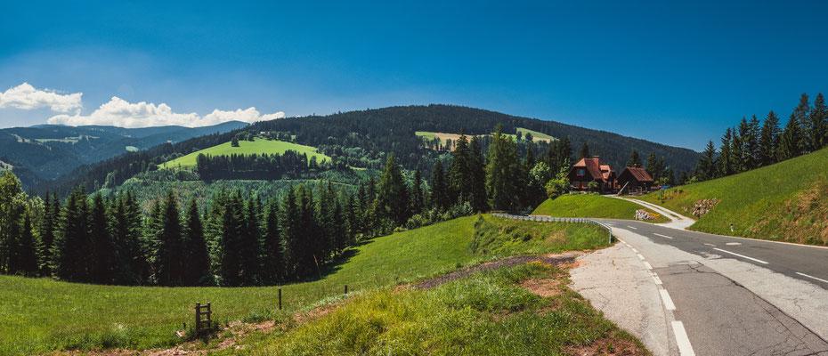 Österreichische Dorflandschaft - Panorama