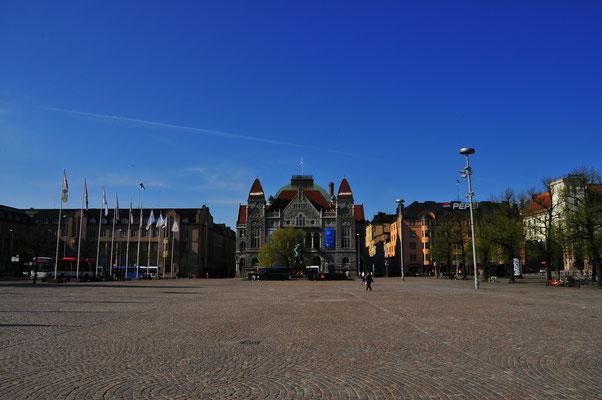 Öffentliche Plätze von Helsinki