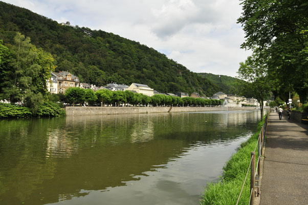 Der Lahn in Bad Ems