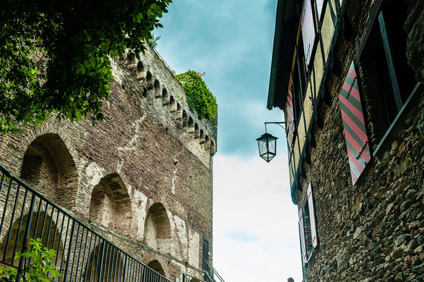 Turmmuseum auf Schönburg in Oberwesel wie im Mittelalter