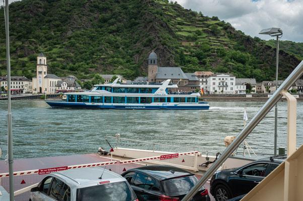 Rhein und die Schiffsfahrt