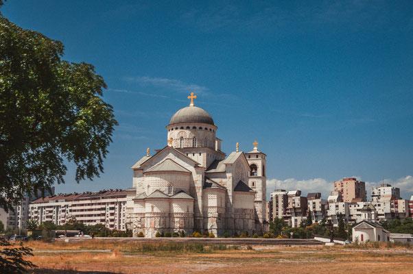 Kirche Podgorica in Montenegro