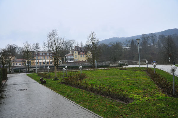 Bad Kissingen bei Regen