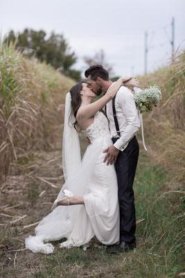 Authentisches Brautpaar-Shooting