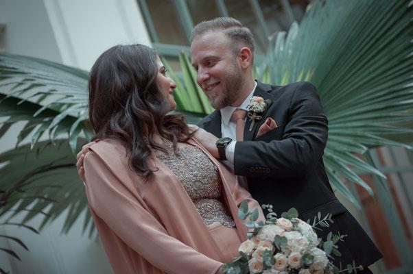 Liebevolle Fotoaufnahmen von Paaren