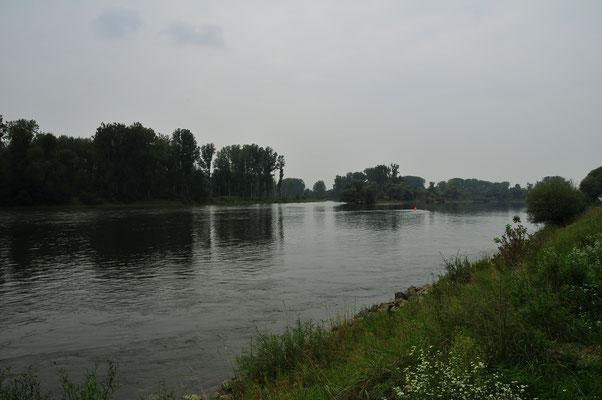 Donau - unterwegs nach Österreich