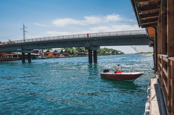 Bootsfahrten an der Buna in Ulcinj Montenegro