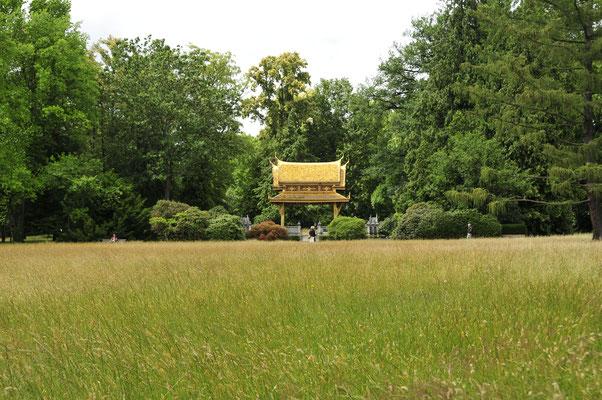 Thai-Sala Bau im Kur-Park von Bad Homburg