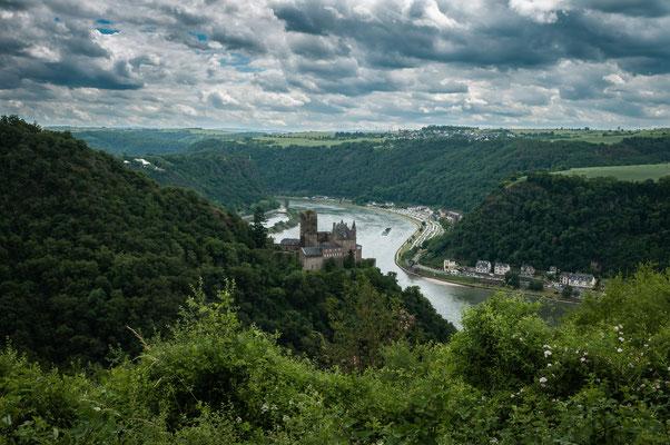 1479 erlosch das Geschlecht der Grafen von Katzenelnbogen. Burg Katz kam mit Burg Rheinfels und allen anderen Gütern als ein reiches Erbe an die Landgrafen von Hessen.