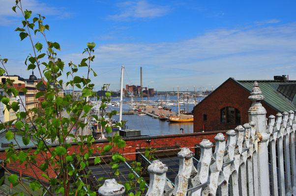 Über den Dächern von Helsinki
