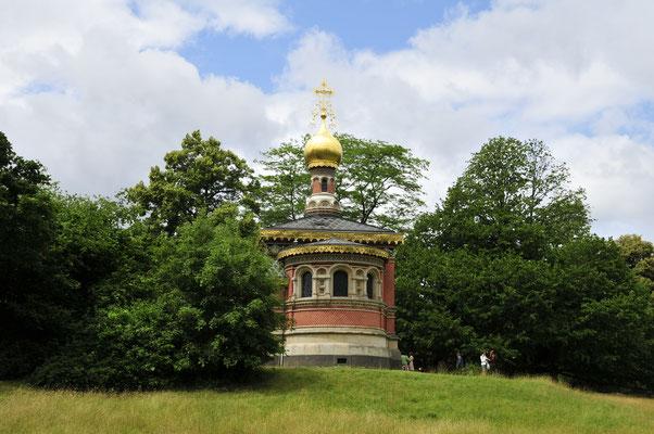Russische Kirche im Park von Bad Homburg