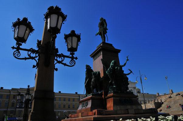 Sehenswürdigkeit von Helsinki - Denkmal an den russischen Imperator Alexander