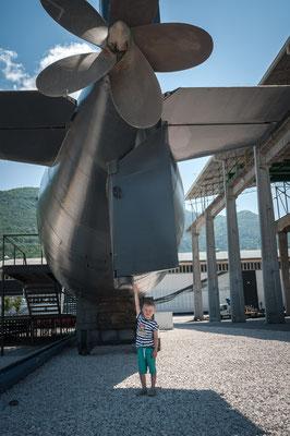 Alte Sowjetische U-Boot