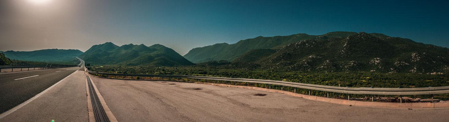 Modernste Autobahnen von Kroatien