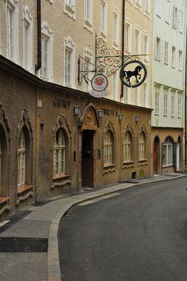 Durch die Gassen von Salzburg