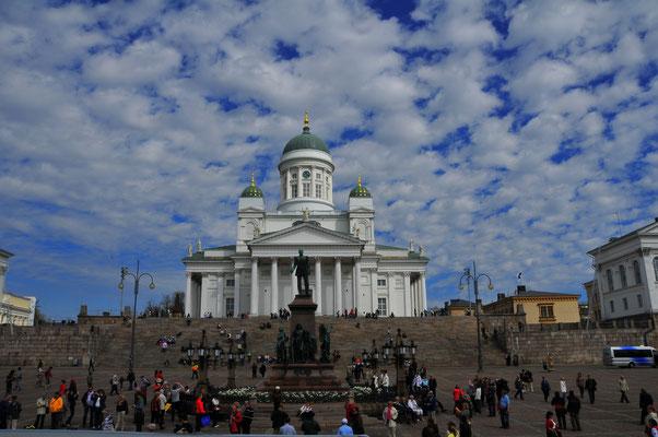 Bekannteste Kathedrale Finnlands - Lutherische Kathedrale in Helsinki