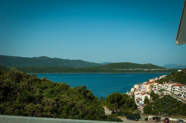 Nahe von Duboka, Klek und Neum in Kroatien