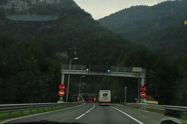Tunneln von Österreich