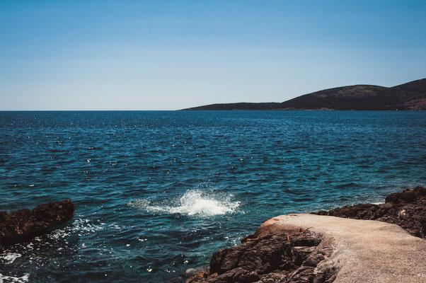 Beach Pržno - Plavi Horizont - Springen erlaubt