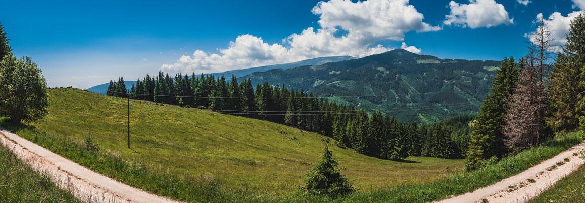 Atemberaubende Landschaften Österreichs Panorama