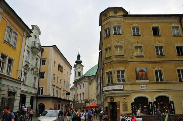 Stadtmitte von Salzburg