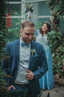 Verlobung-Shooting mit nachgestellten Szenen