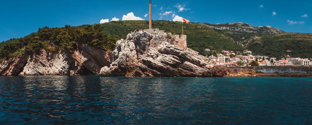 Kleine Festung von Petrovac in Montenegro