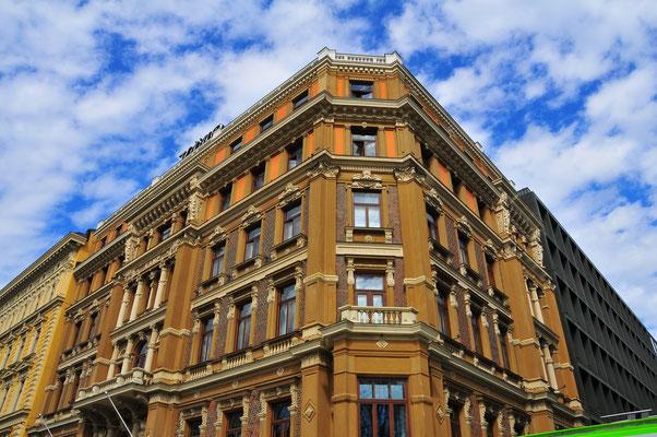 Typische Architektur der Stadt Helsinki